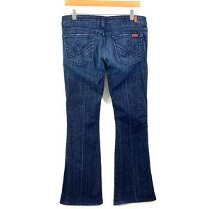 7 FOR ALL MANKIND Size 29 'A' Pocket Jeans B36